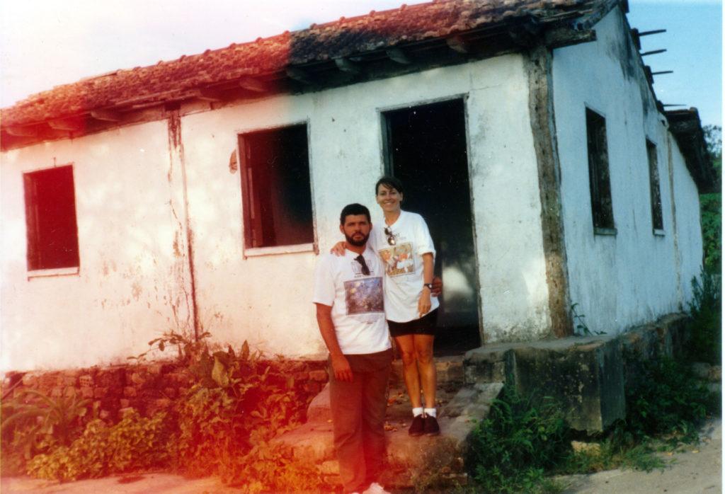 Casa no Pau Rachado, onde nasci (ruínas)