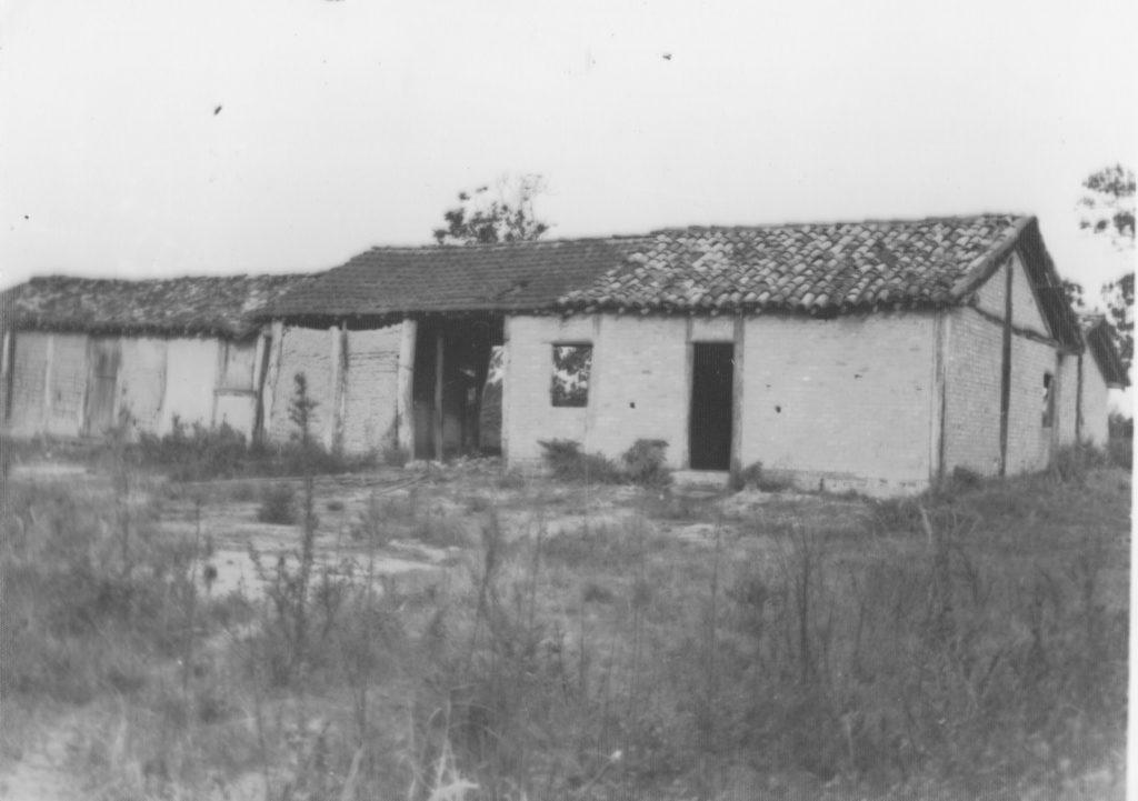 Pau Rachado - Engenho de Farinha em ruínas (vista do terreiro - fundos)