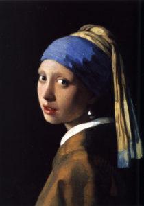Moça com Brinco de Pérolas - Johannes Vermeer (1632-1675) - Paulo Jorge