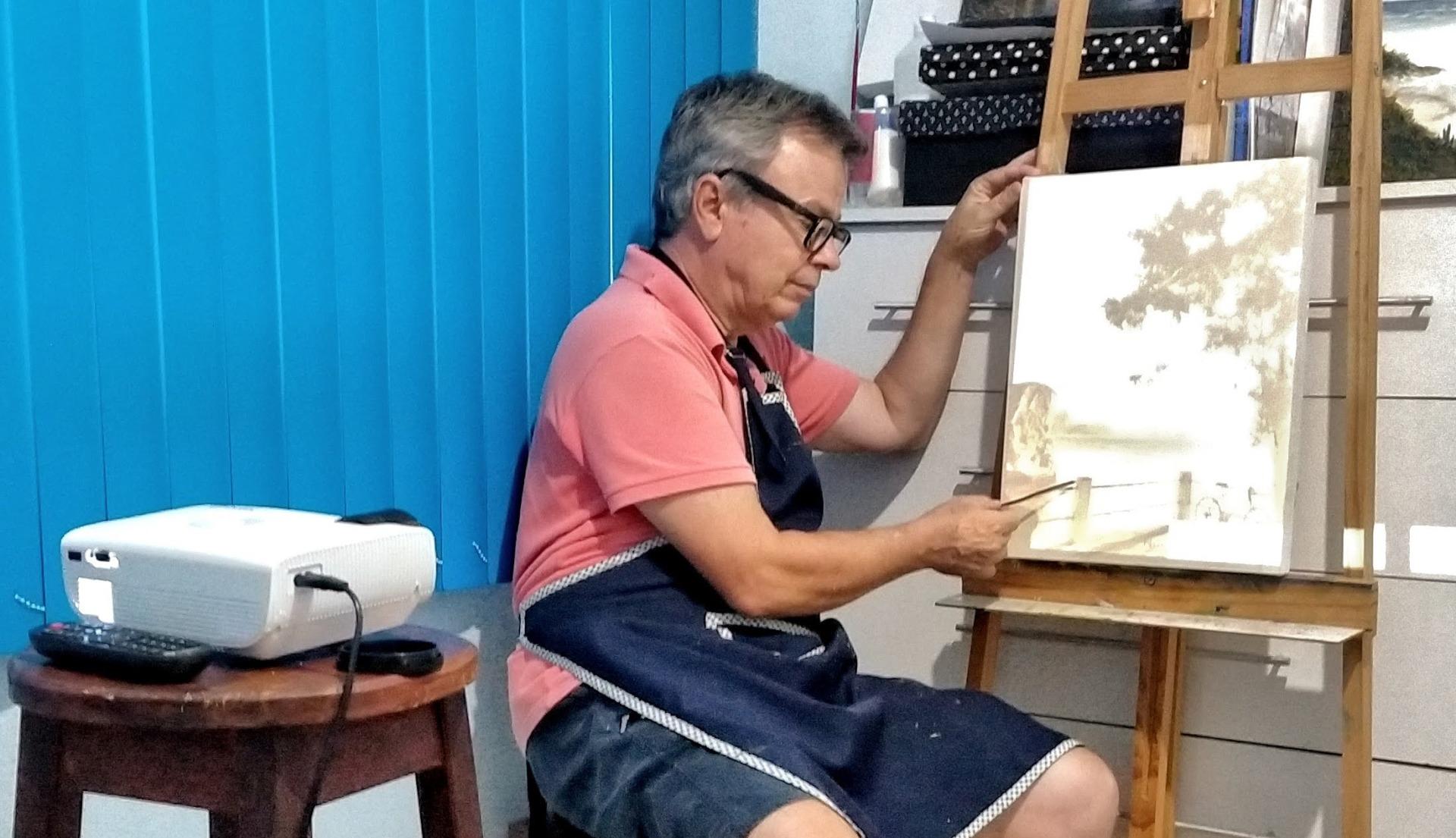 Projetor para ampliação - Paulo Jorge artes
