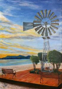 MOINHO DA ALDEIA - AST 50 X 70 - Painel (Paulo Jorge)